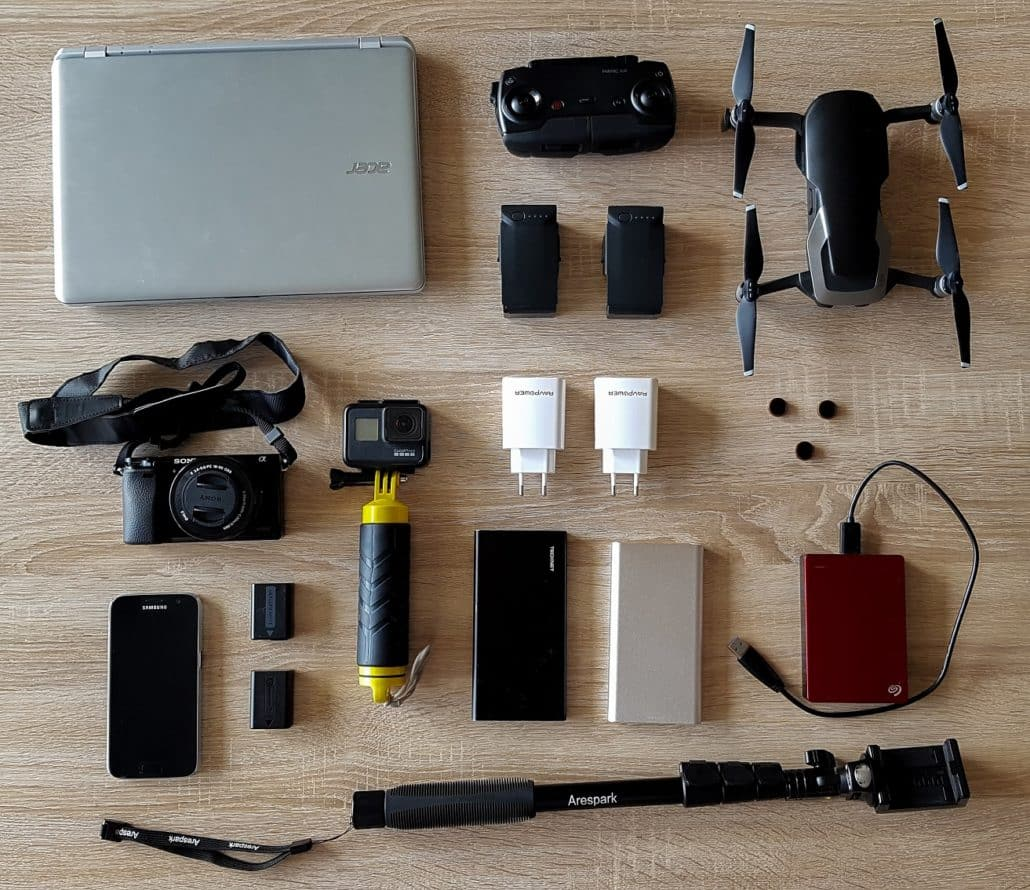 ordinateur camédra drone