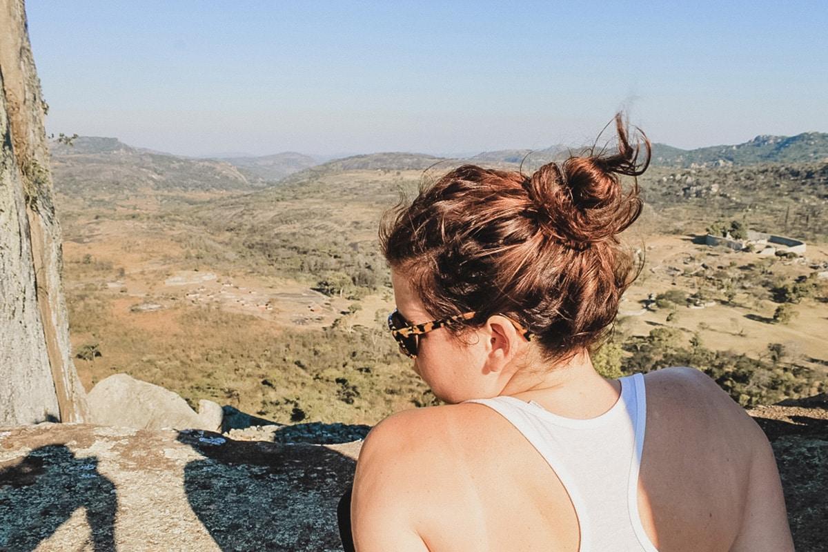 carole vue ruines zimbabwe