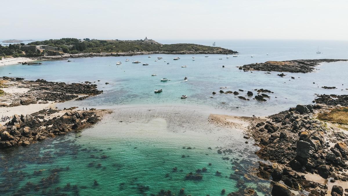 mer îles chausey normandie