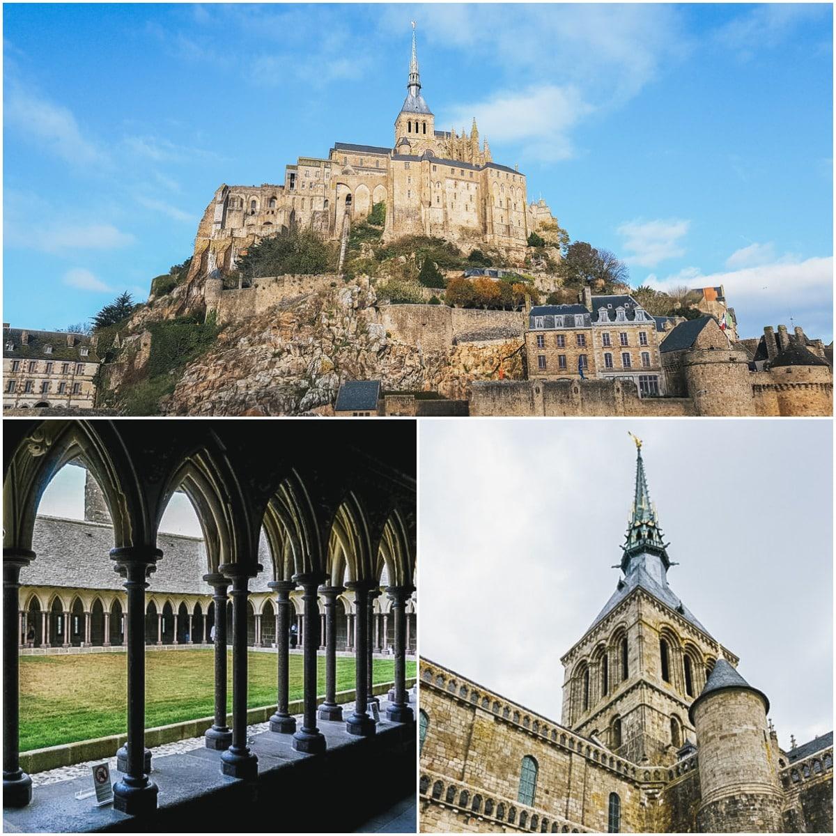 mont cloître clocher normandie