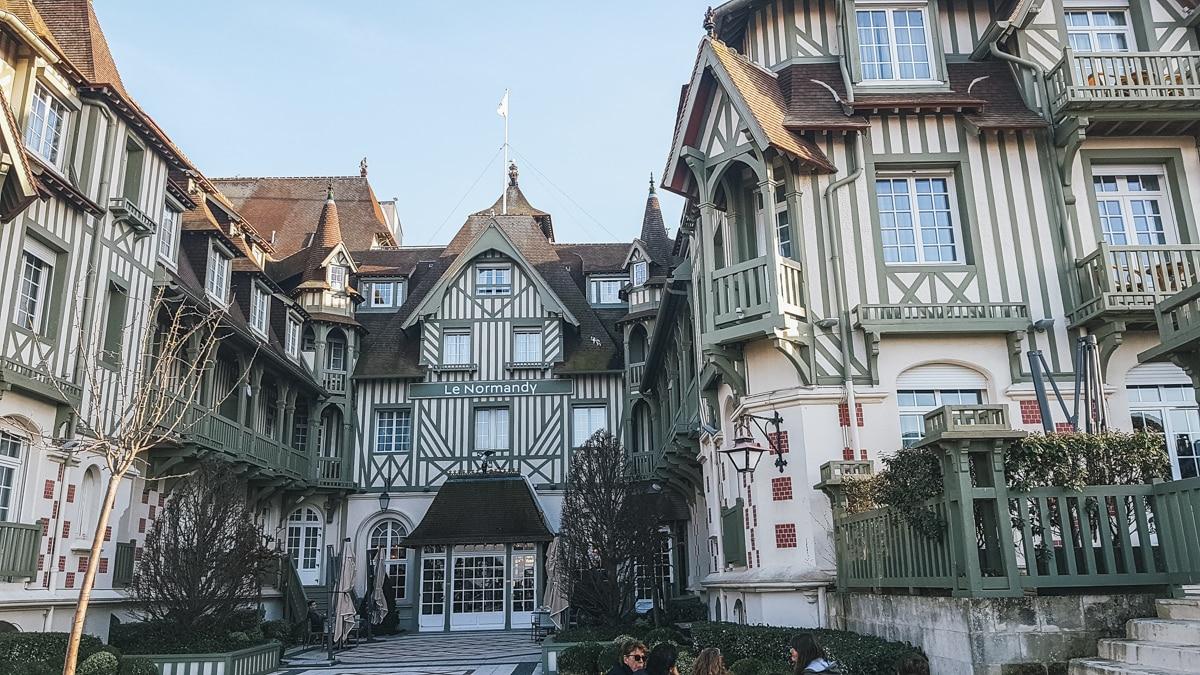 hôtel deauville normandie