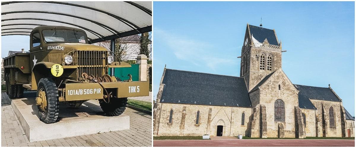 église musée voiture normandie