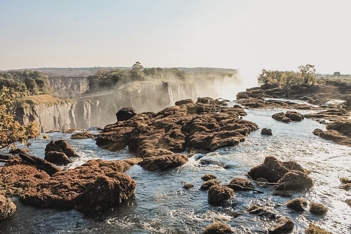 chutes rivière brume zimbabwe