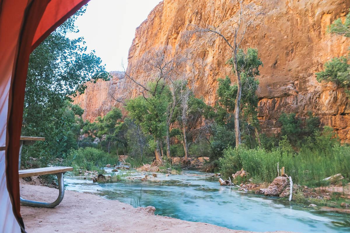 tente rivière havasu arizona