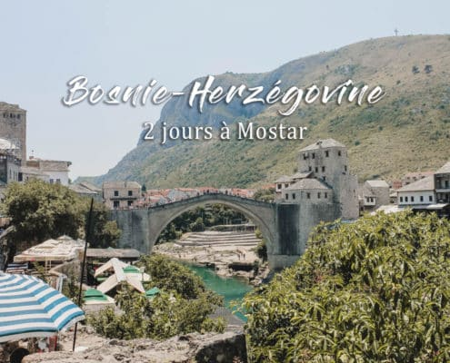 pont mostar bosnie