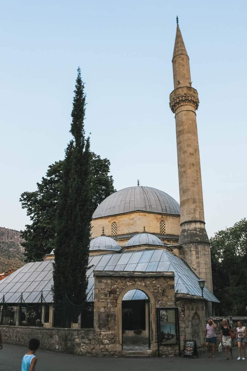 mosquée bosnie mostar