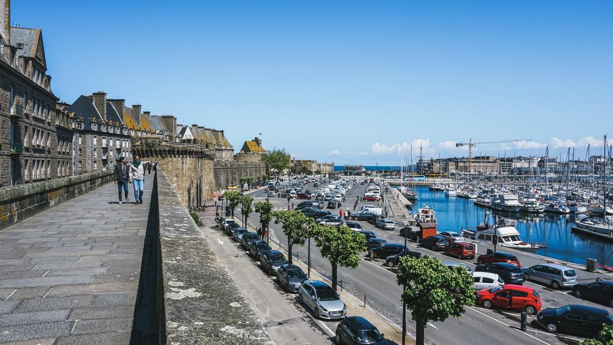 rempart port saint malo