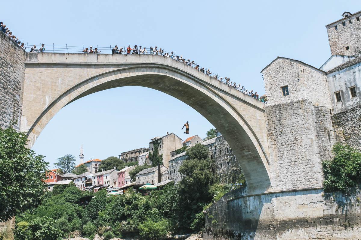 saut pont bosnie mostar