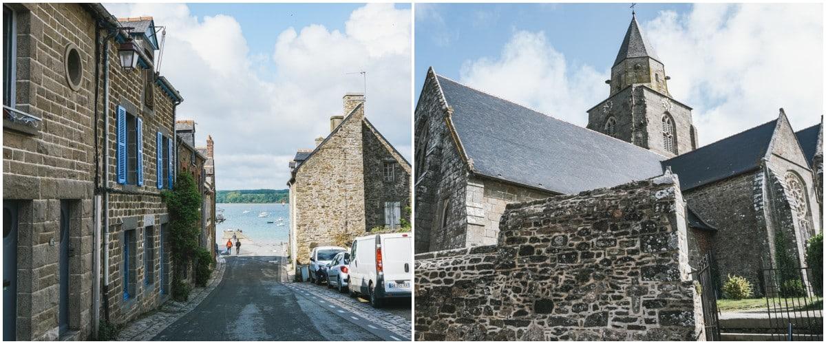 village église saint suliac