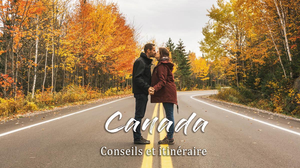 couple parc route canada
