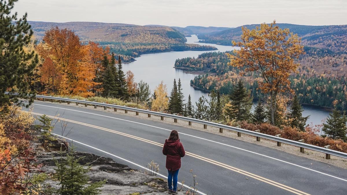 carole route lac quebec mauricie