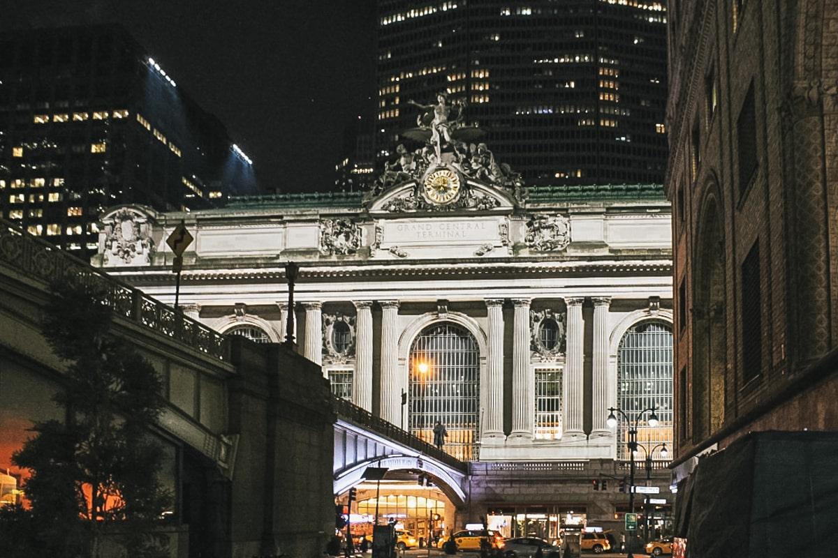 bâtiment gare new york