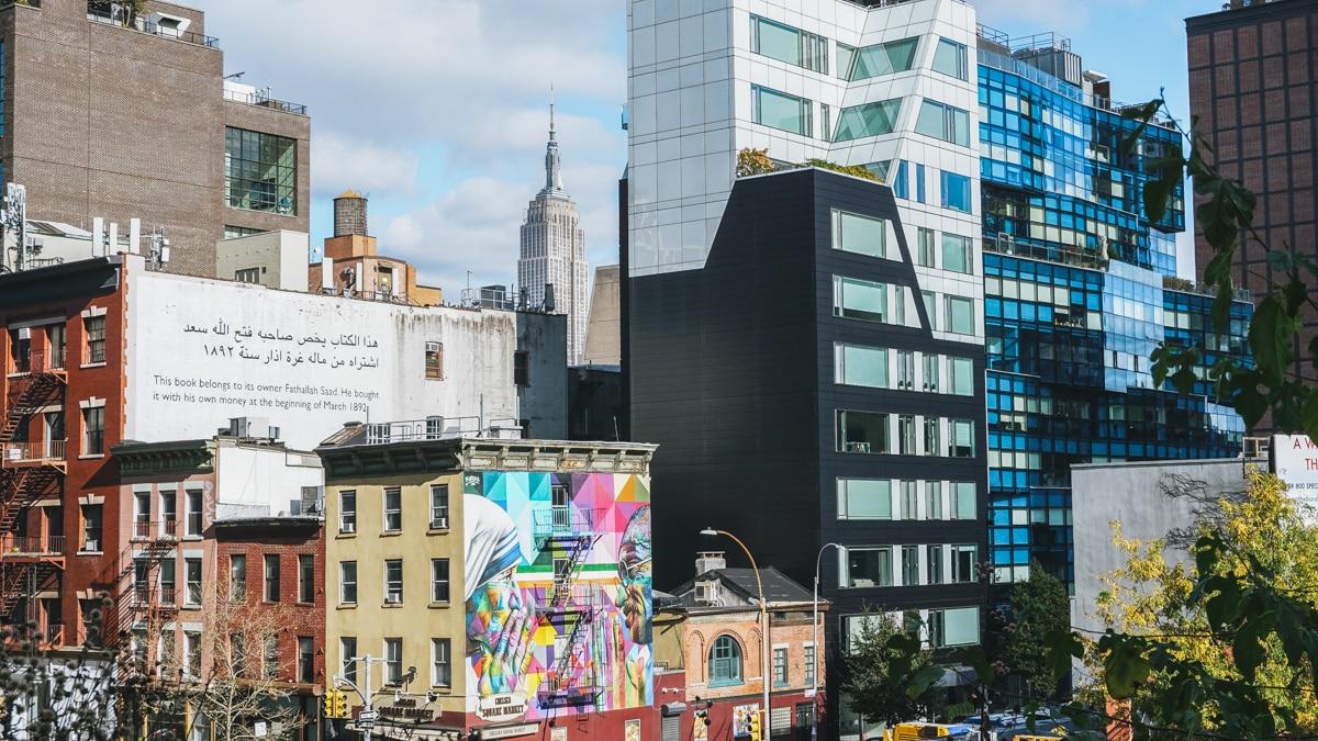 manhattan buildings new york