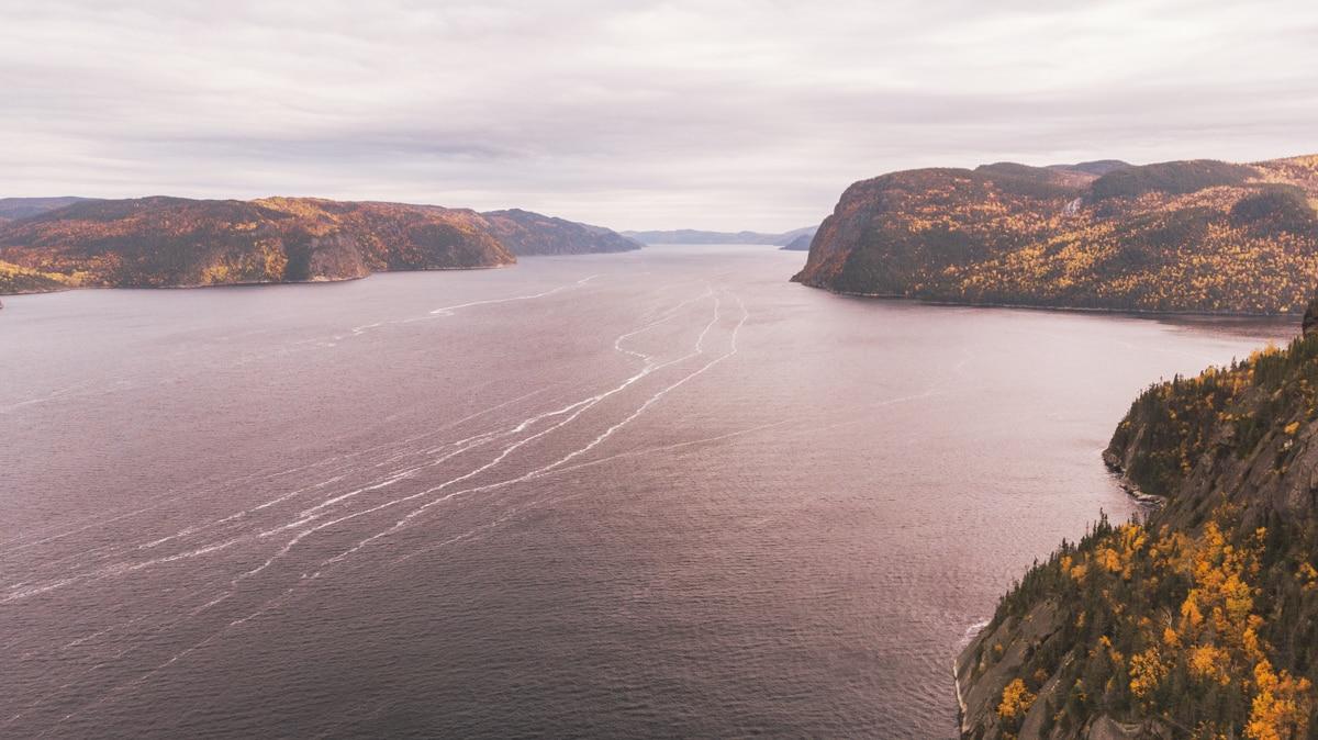 fjord rivière quebec saguenay