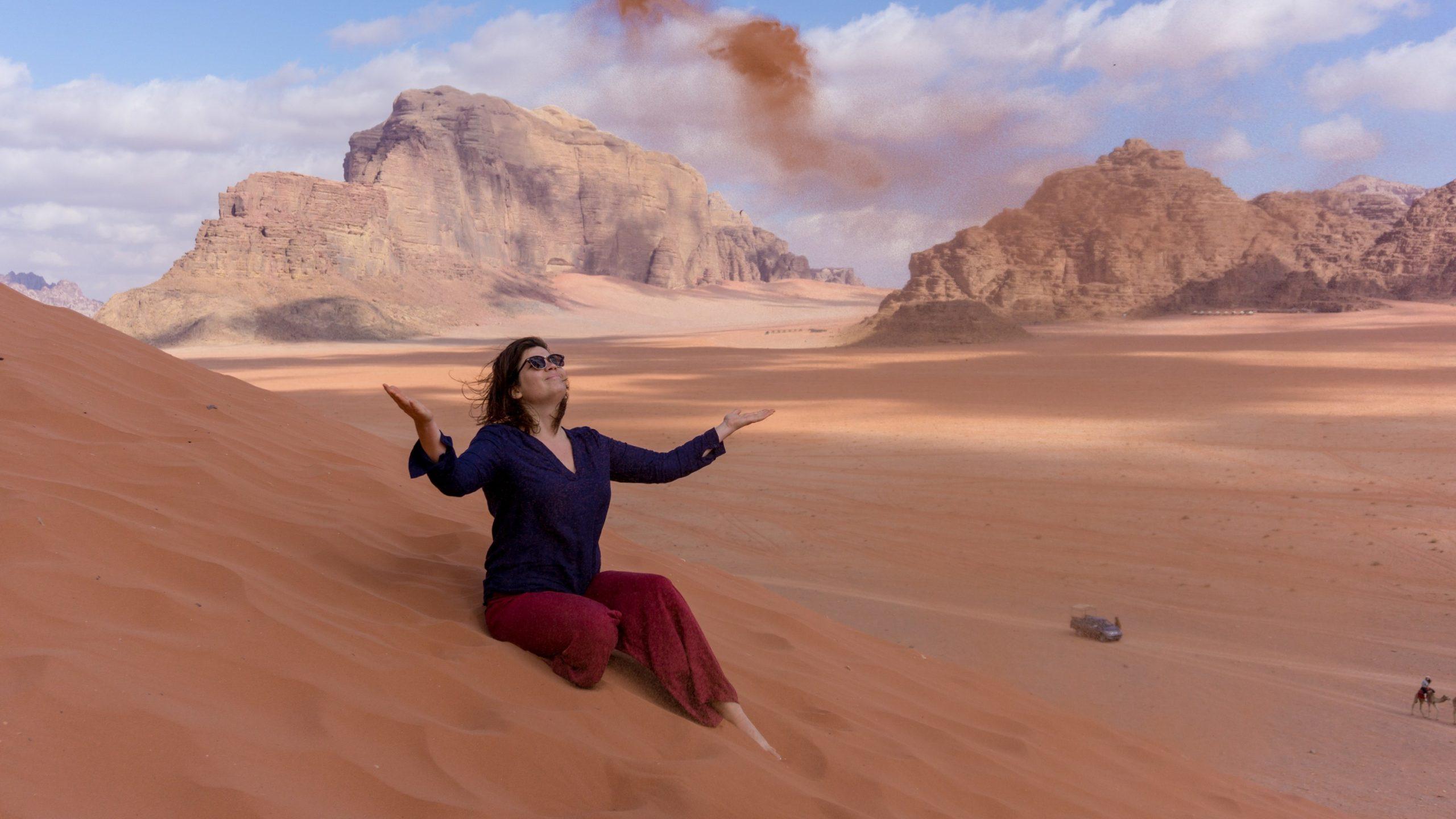 carole sable désert