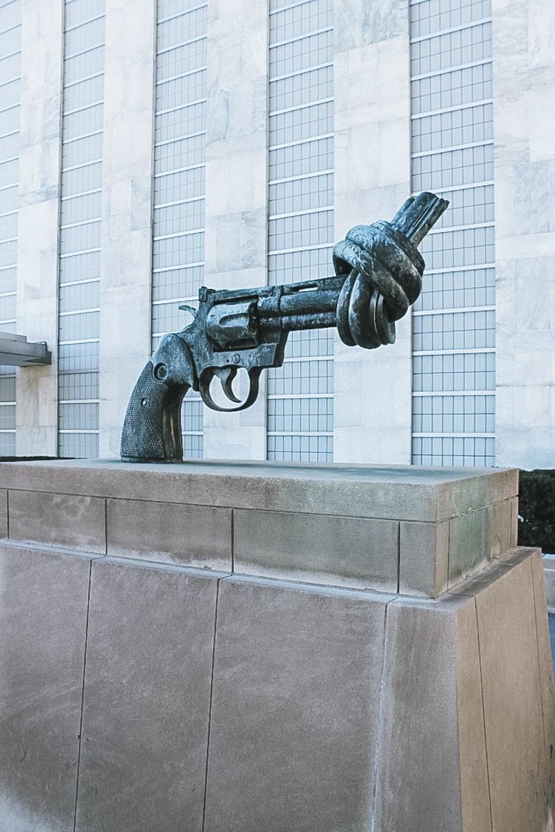 revolver sculpture new york