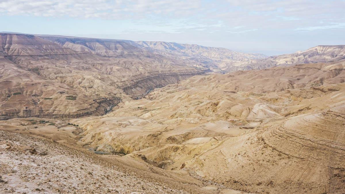 désert route jordanie
