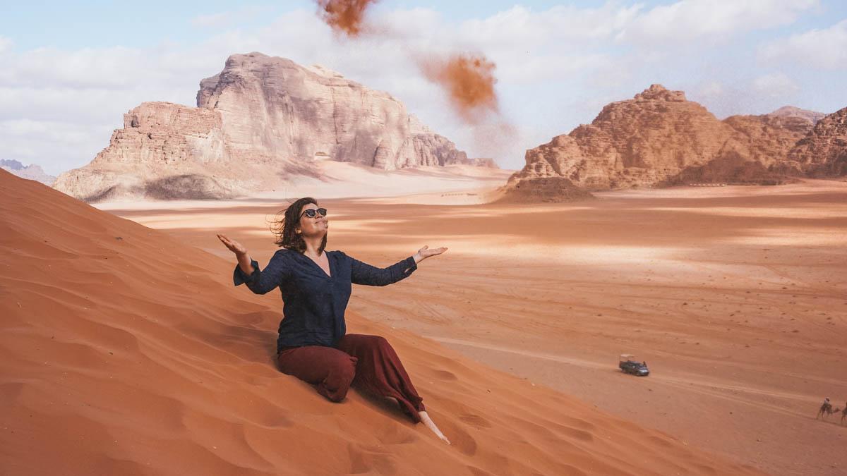 carole désert jordanie