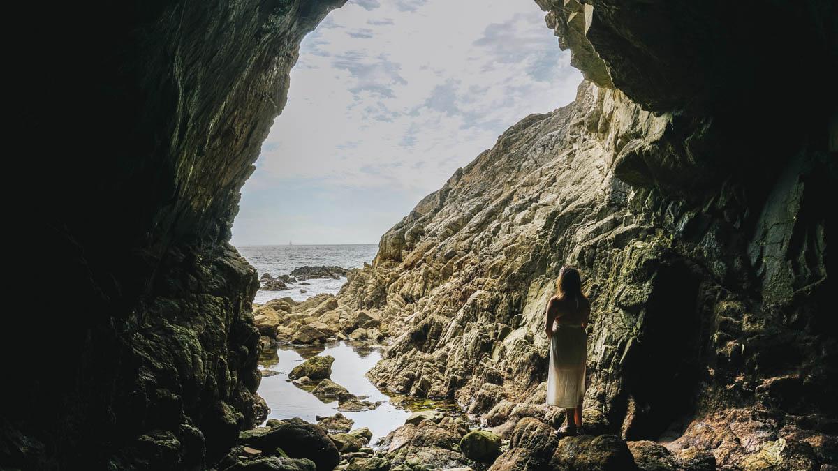 loire atlantique grotte korrigans pouliguen
