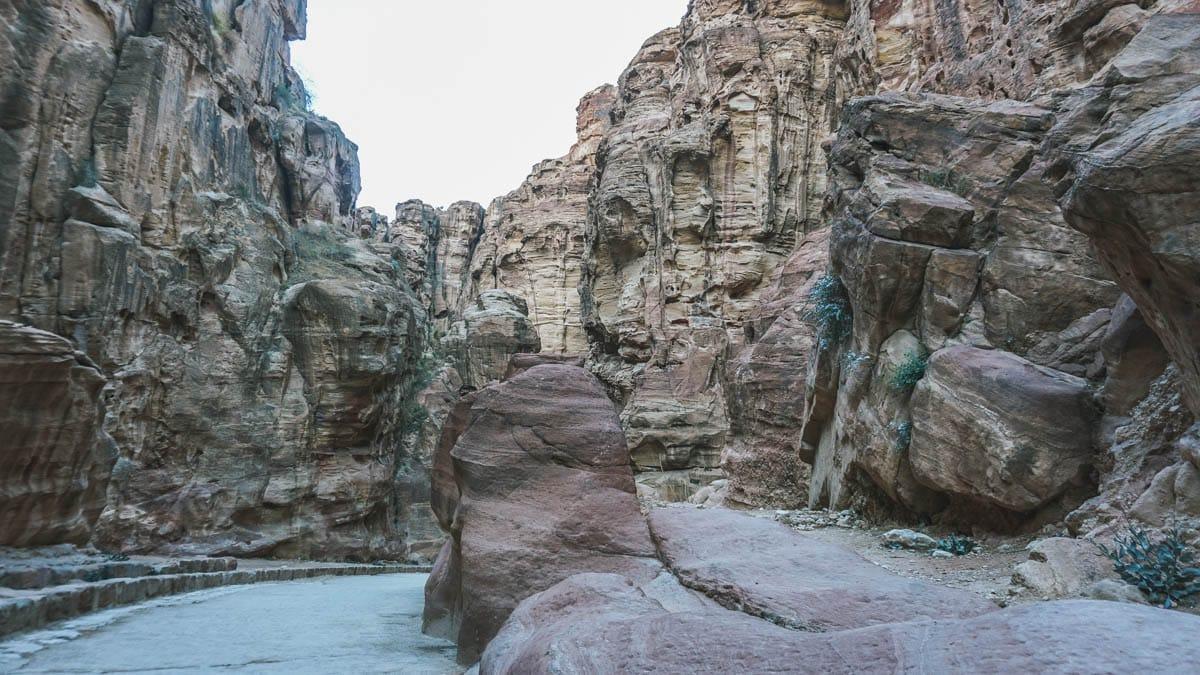 pétra roche jordanie