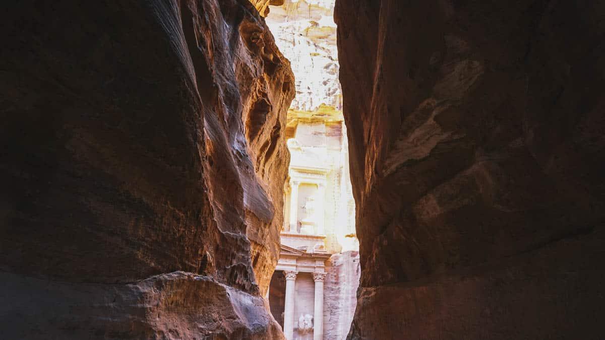 pétra roche trésor jordanie
