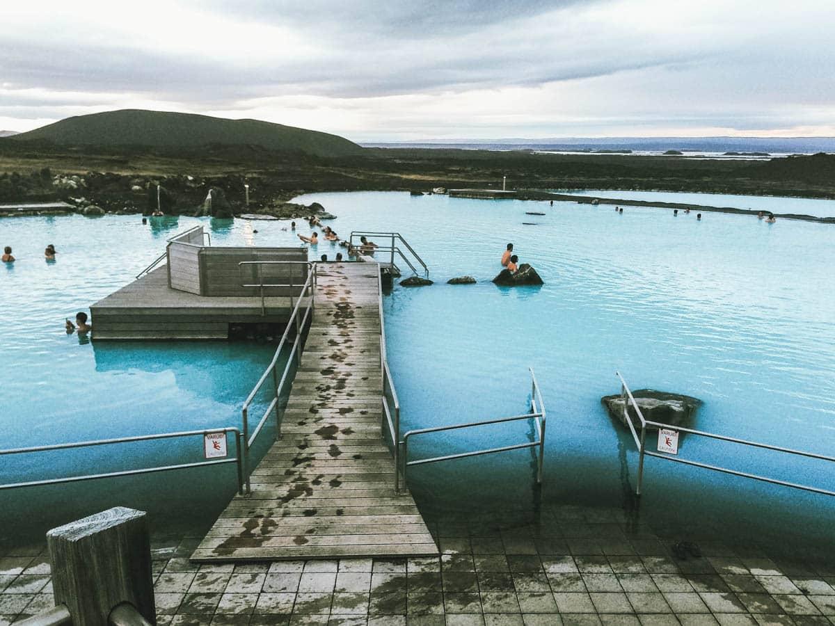 bains piscine islande