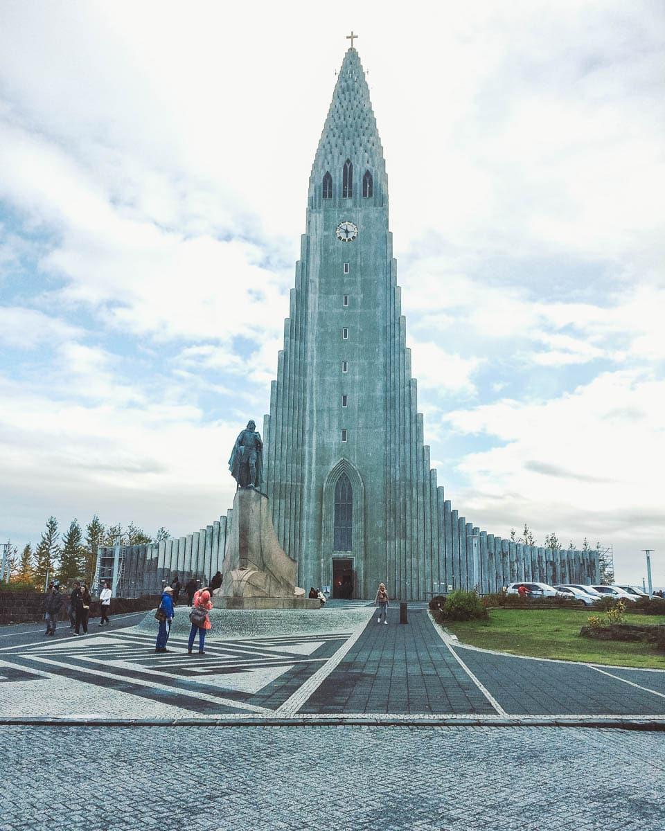 église reykjavik Islande