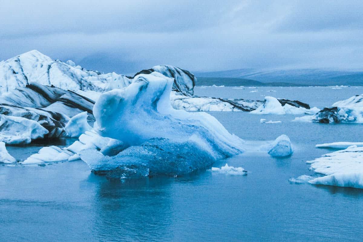 iceberg eau islande