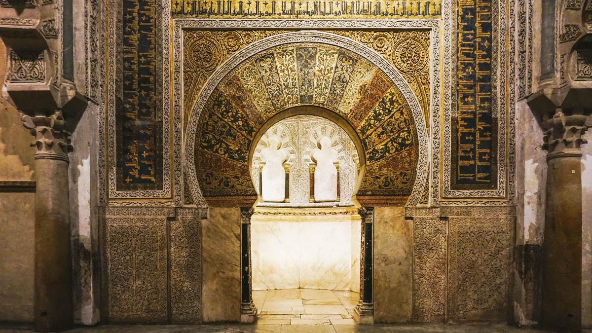 mirab mosquée cordoue
