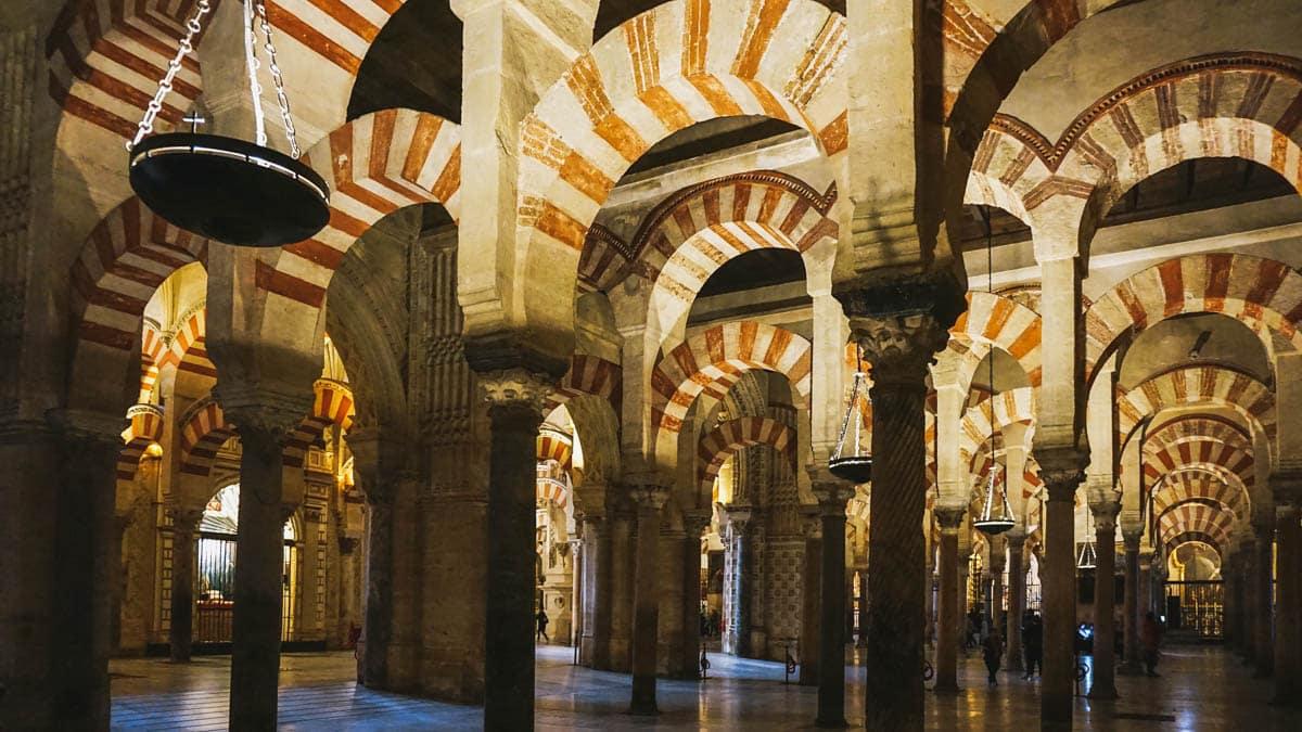 arches mosquée cordoue