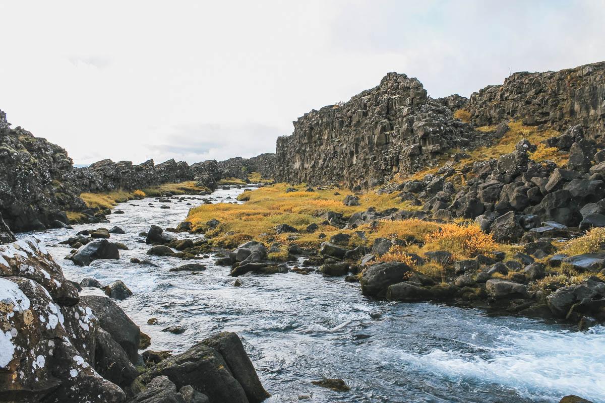 parc nature rivière Islande