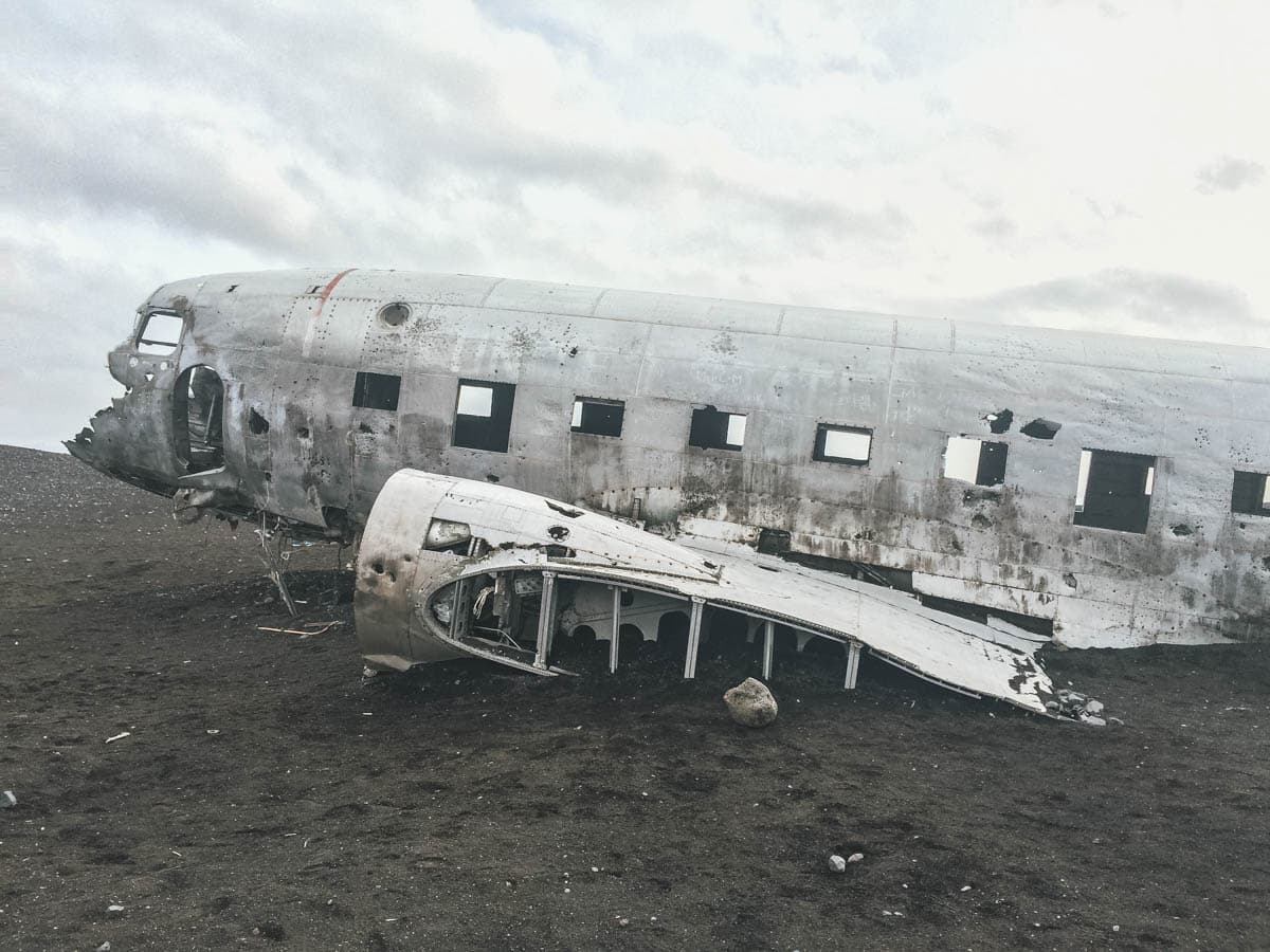 avion épave islande
