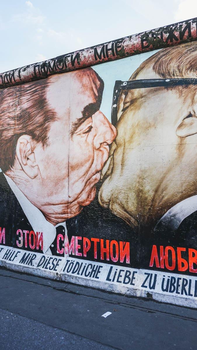 mur dessin berlin