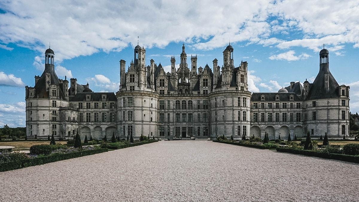 château chambord jardins
