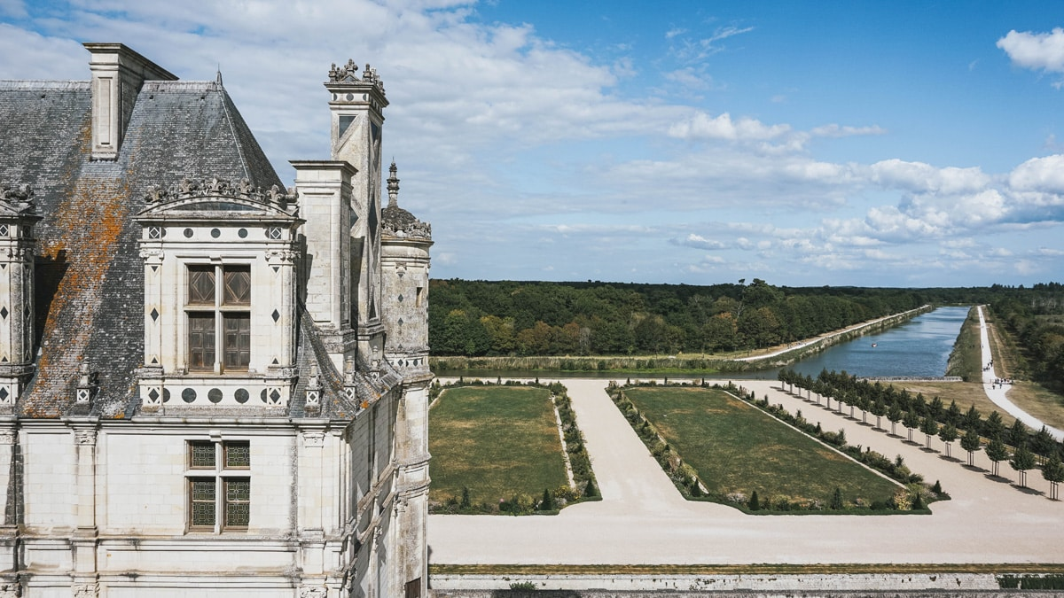 château jardin chambord