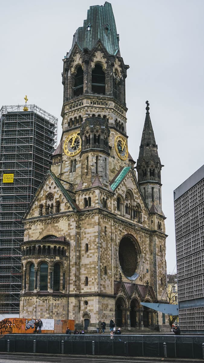 église ruine berlin