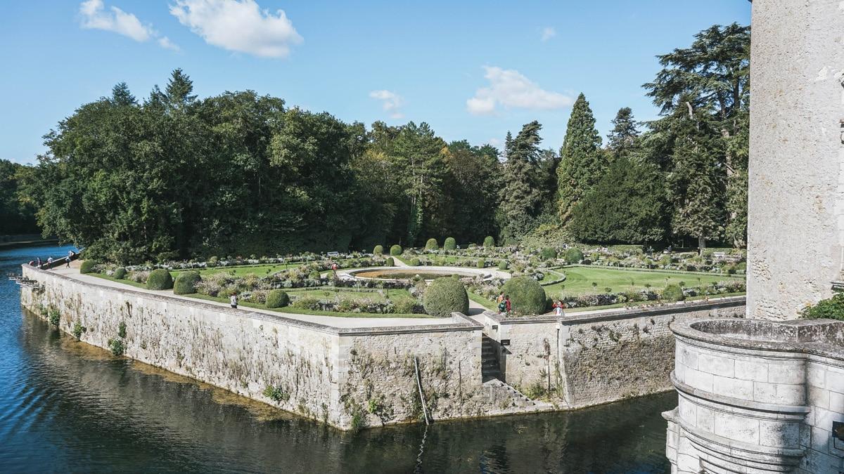 jardin cher chenonceau