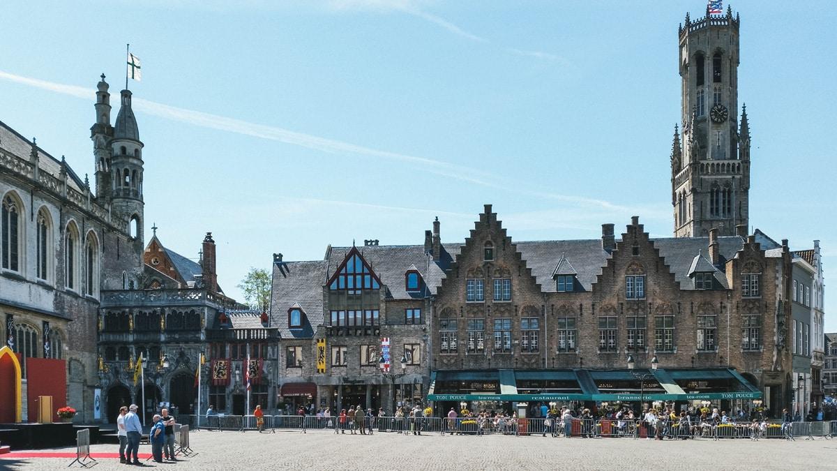 beffroi place belgique