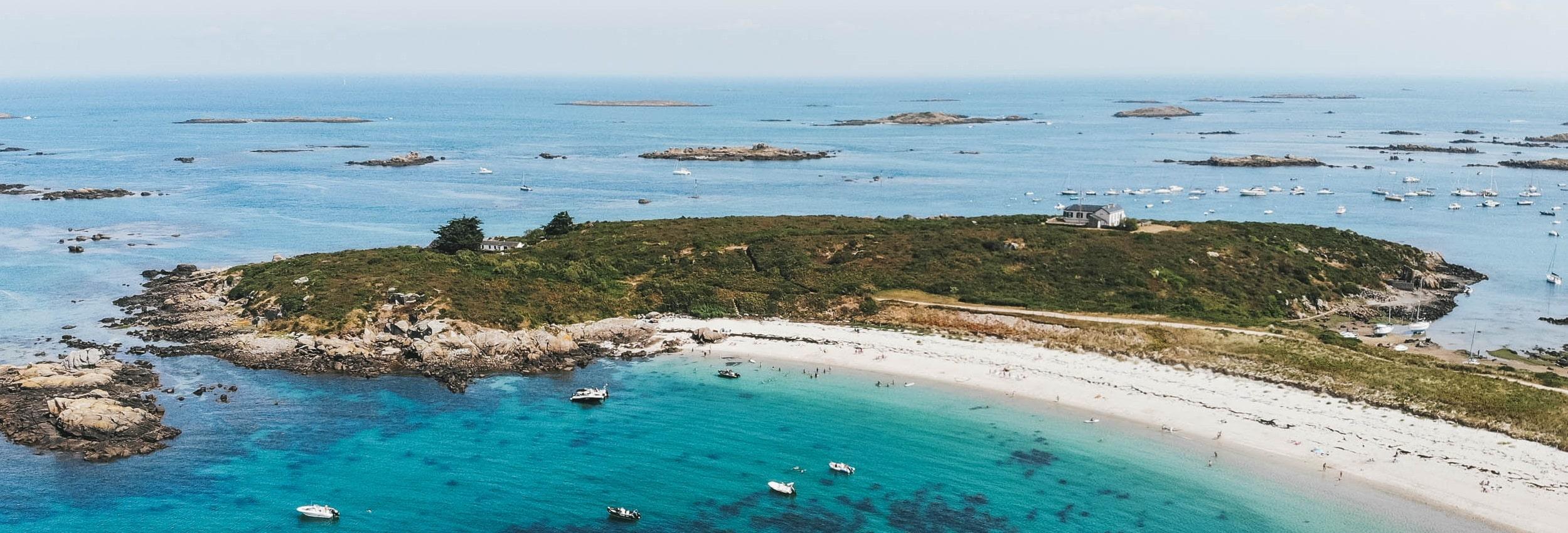 îles chausey drône