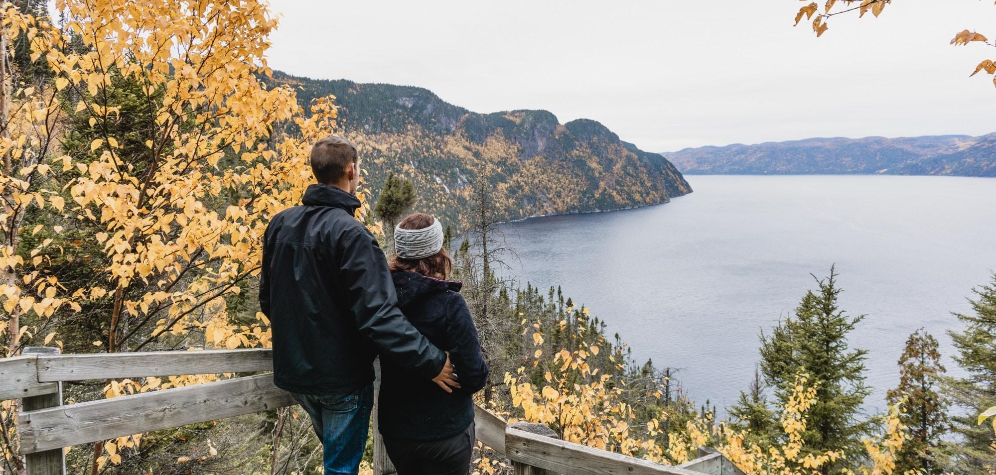 parc saguenay couple canada