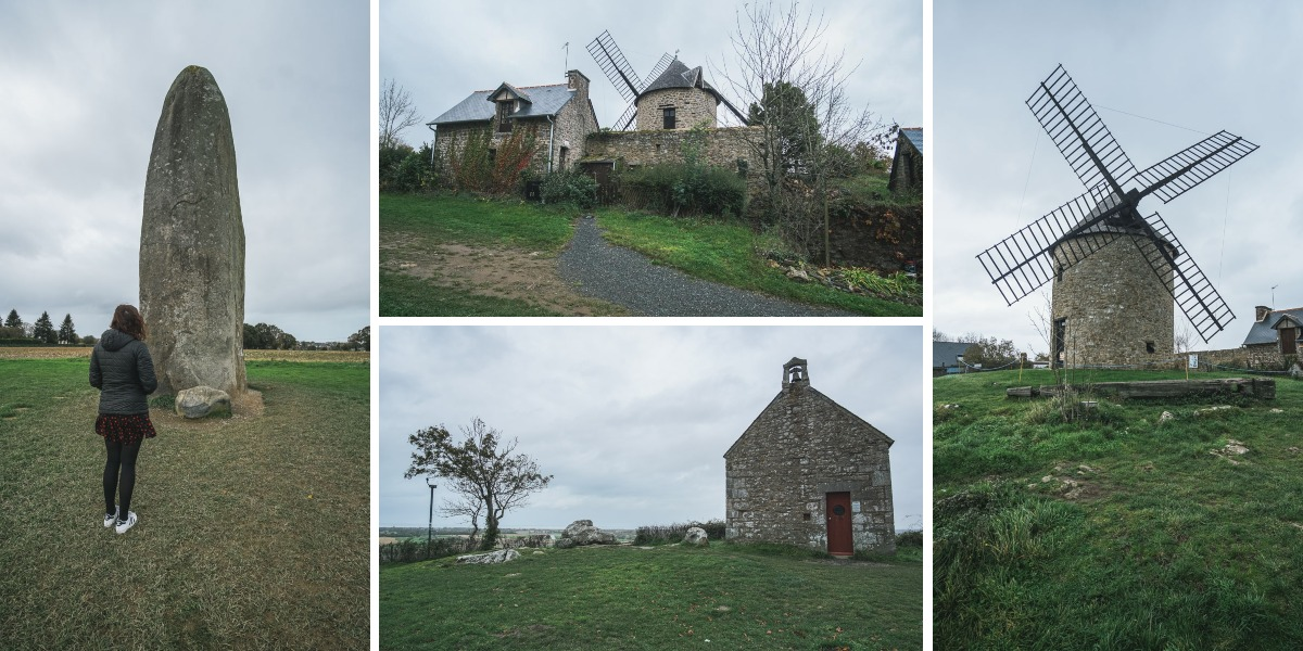 menhir moulin chapelle