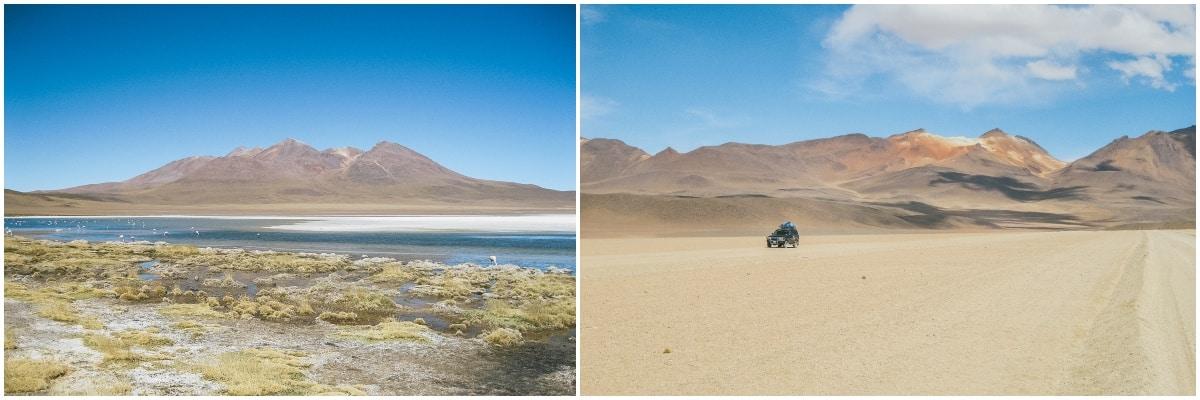 lagune désert bolivie