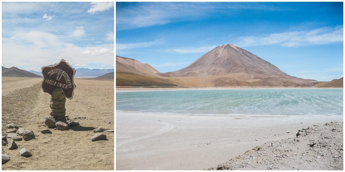 lagune bolivie volcan
