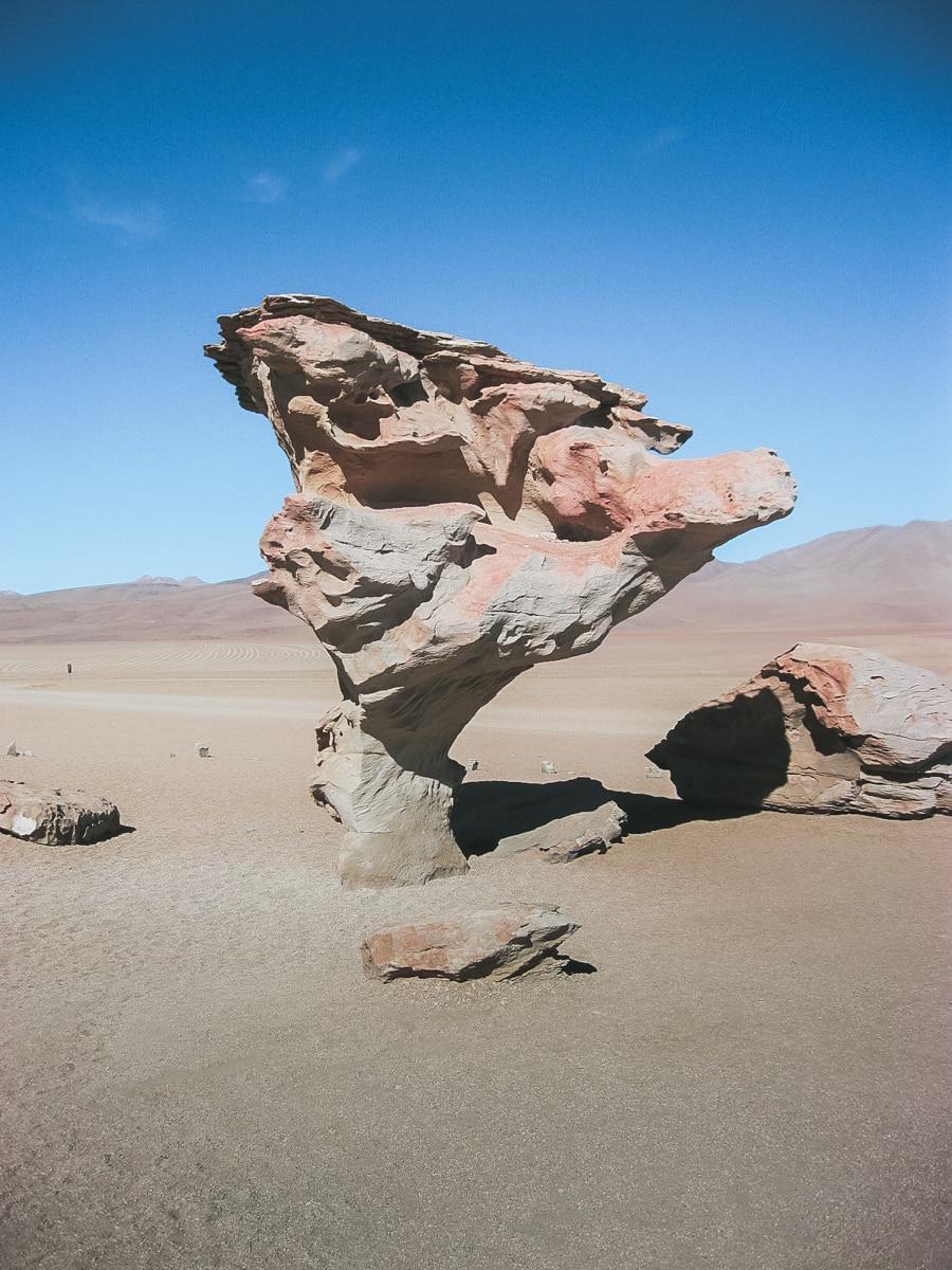 désert roche bolivie