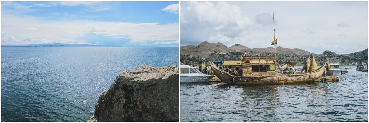 lac titicaca bateau bolivie