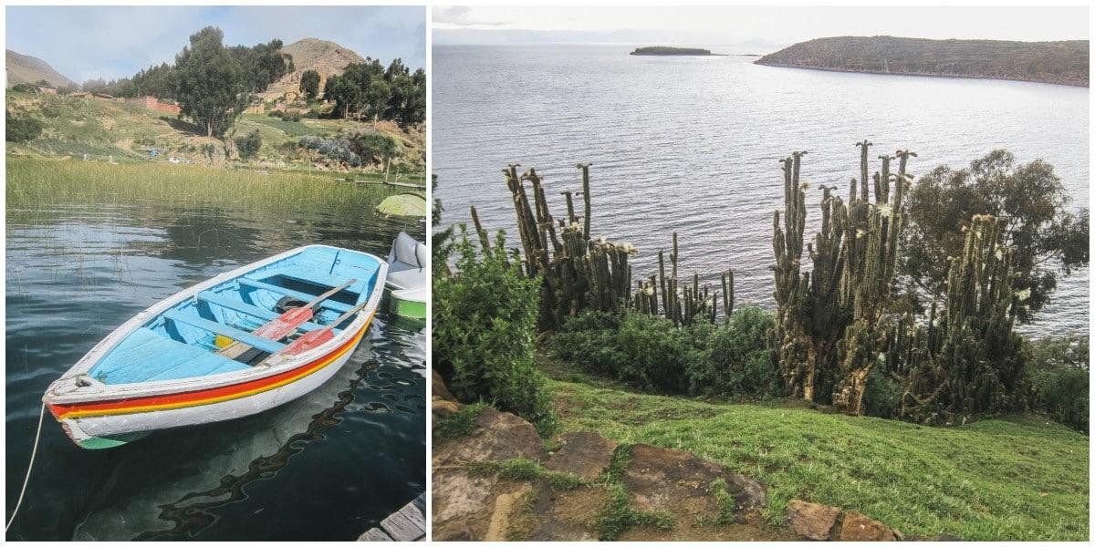 bateau lac titicaca bolivie