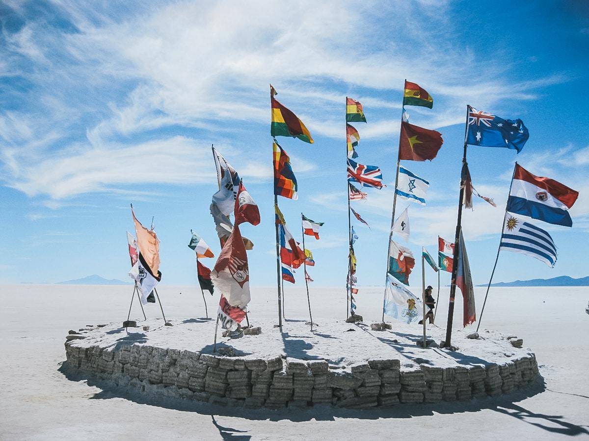 drapeaux uyunie bolivie