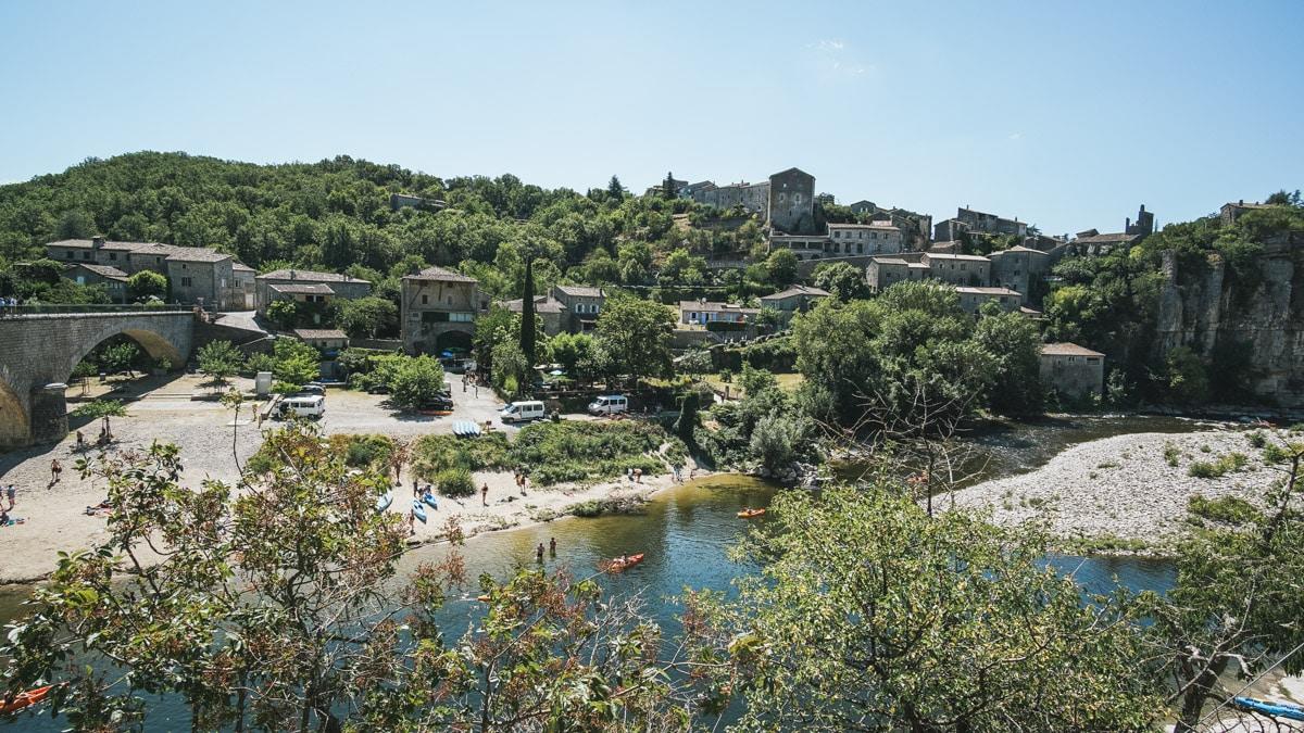 ardèche village