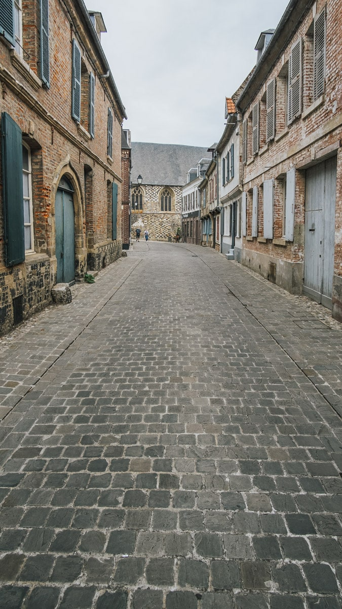 pavé cathédrale somme