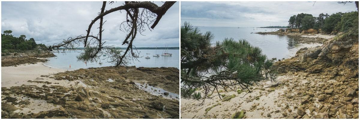 crique plage mer finistère